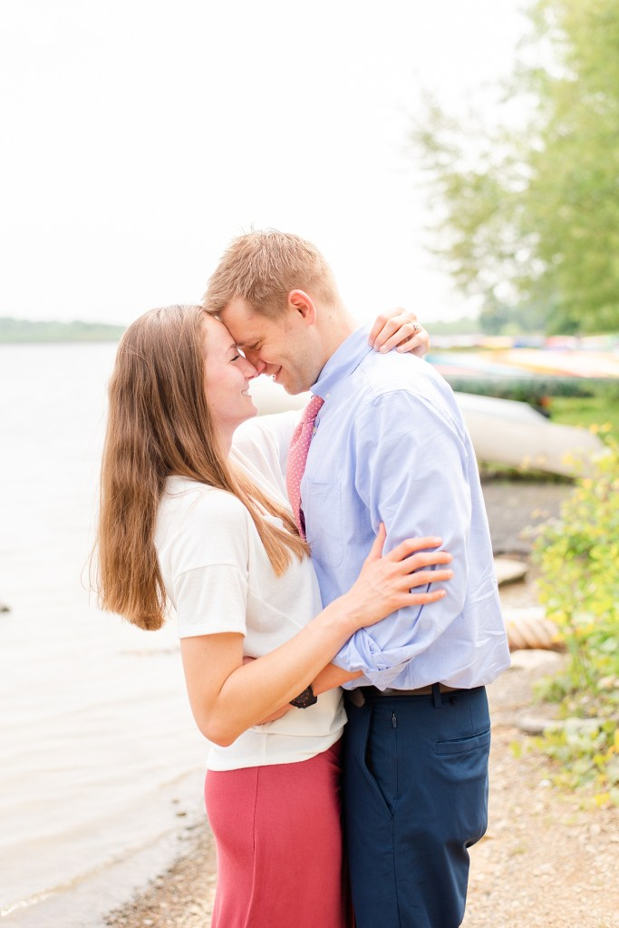 Engagement portraits with couple in PA by Renee Nicolo Photography