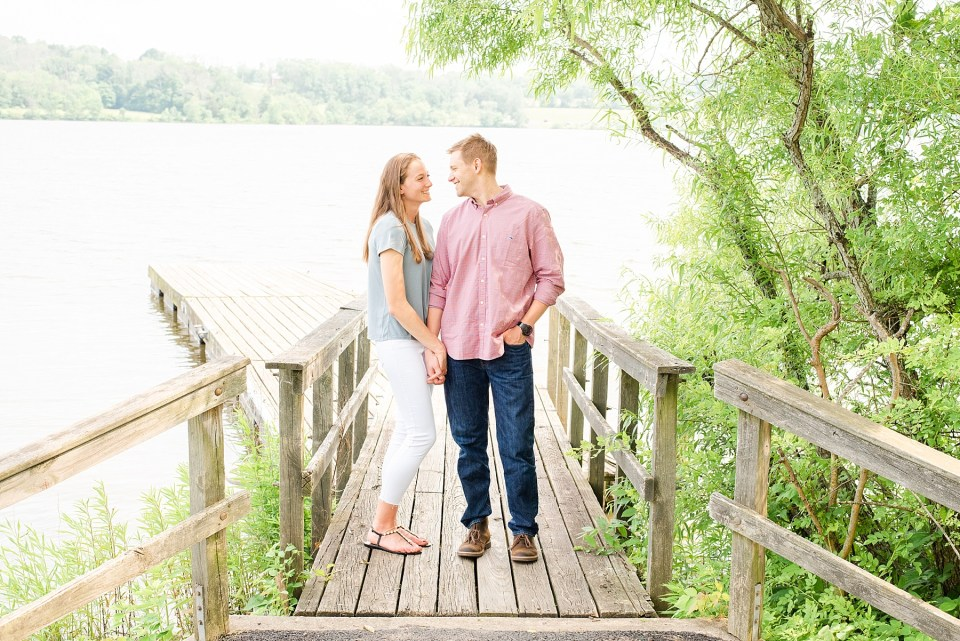 Peace Valley engagement session by PA wedding photographer Renee Nicolo Photography