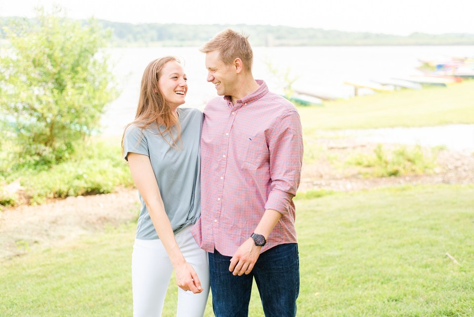 Peace Valley engagement session by Renee Nicolo Photography