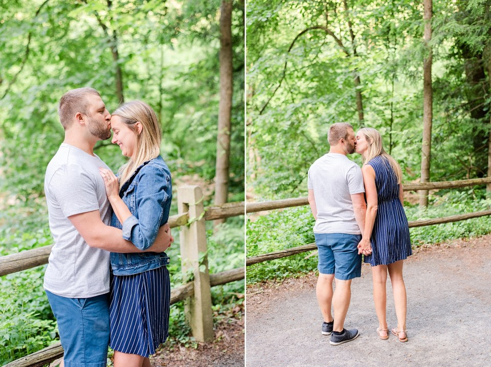 PA wedding photographer Renee Nicolo Photography captures engagement session