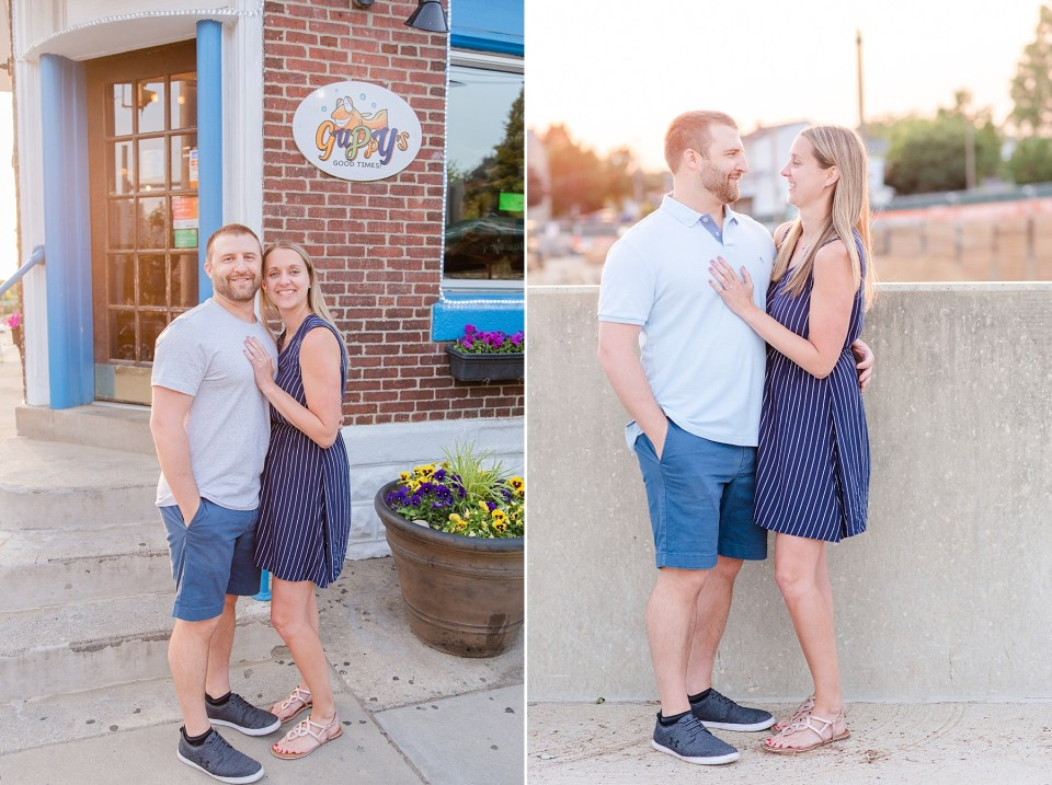 City engagement session with Renee Nicolo Photography