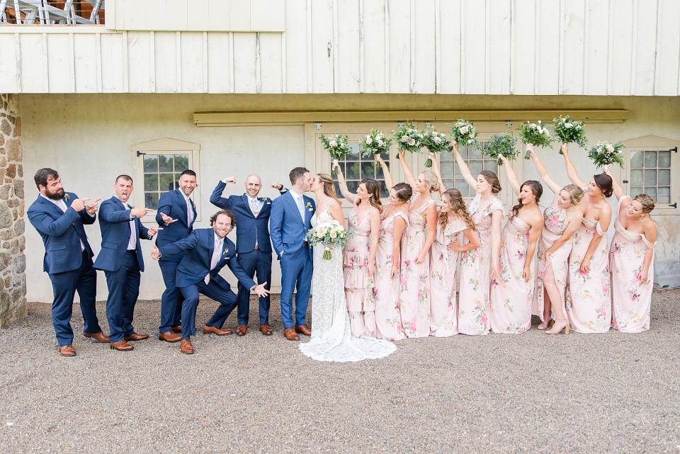 Renee Nicolo Photography photographs bridal party in PA
