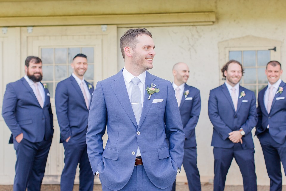 bridal party portraits by PA wedding photographer Renee Nicolo Photography