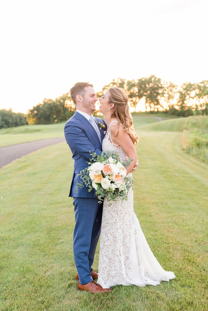 French Creek Golf Club wedding portraits photographed by Renee Nicolo Photography
