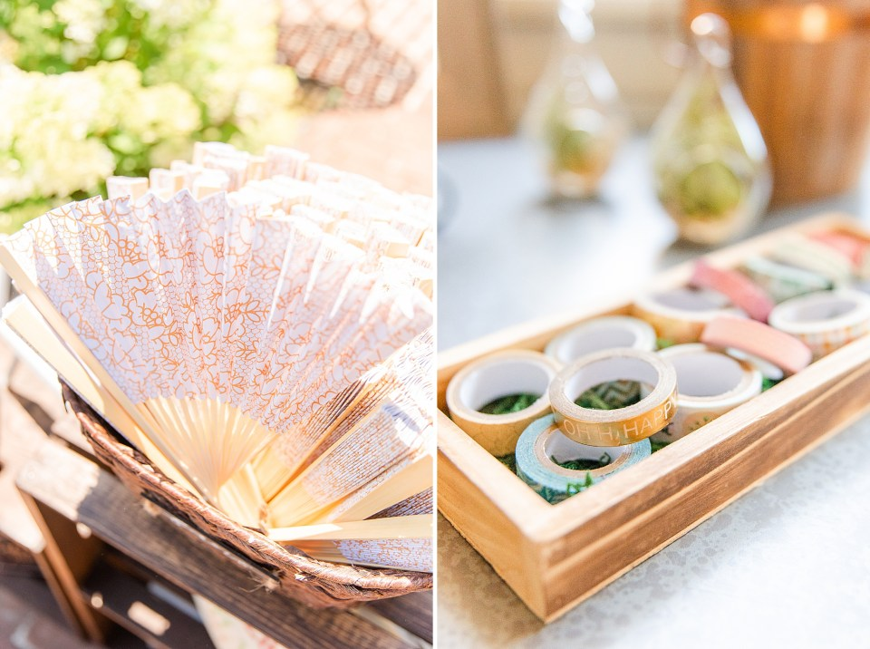 summer wedding details photographed by Renee Nicolo Photography