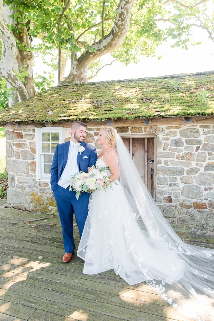 wedding portraits in French Creek Golf Club photographed by Renee Nicolo Photography