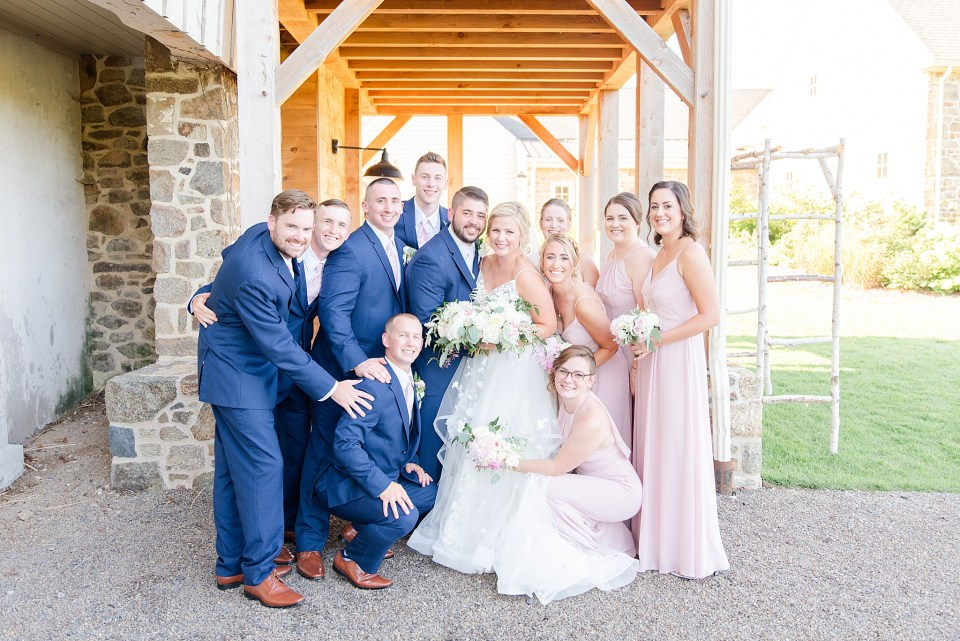 fun bridal party photographed by Renee Nicolo Photography
