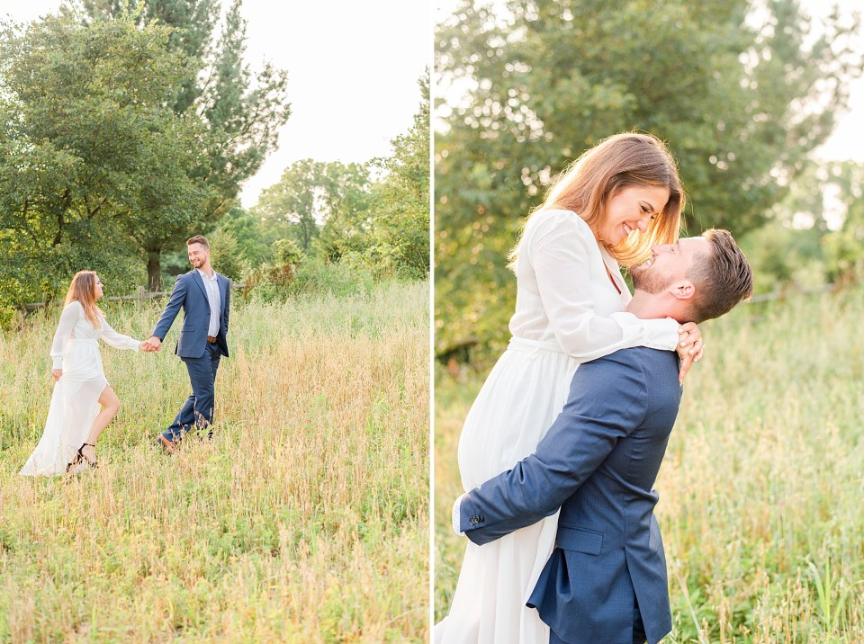 Renee Nicolo Photography photographs engagement session