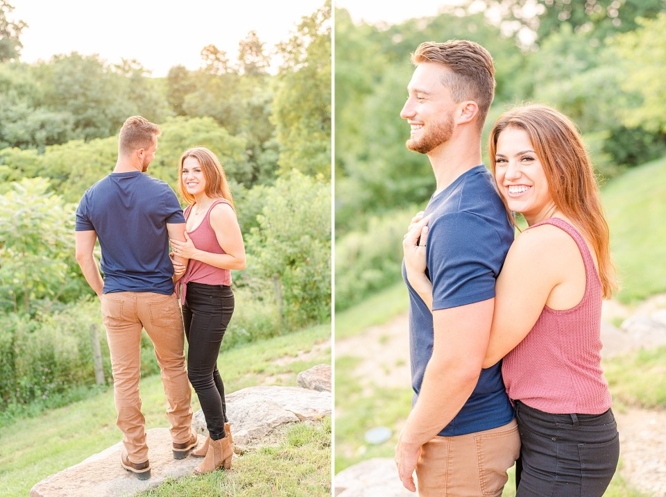 PA engagement session by Renee Nicolo Photography at Glasbern Inn