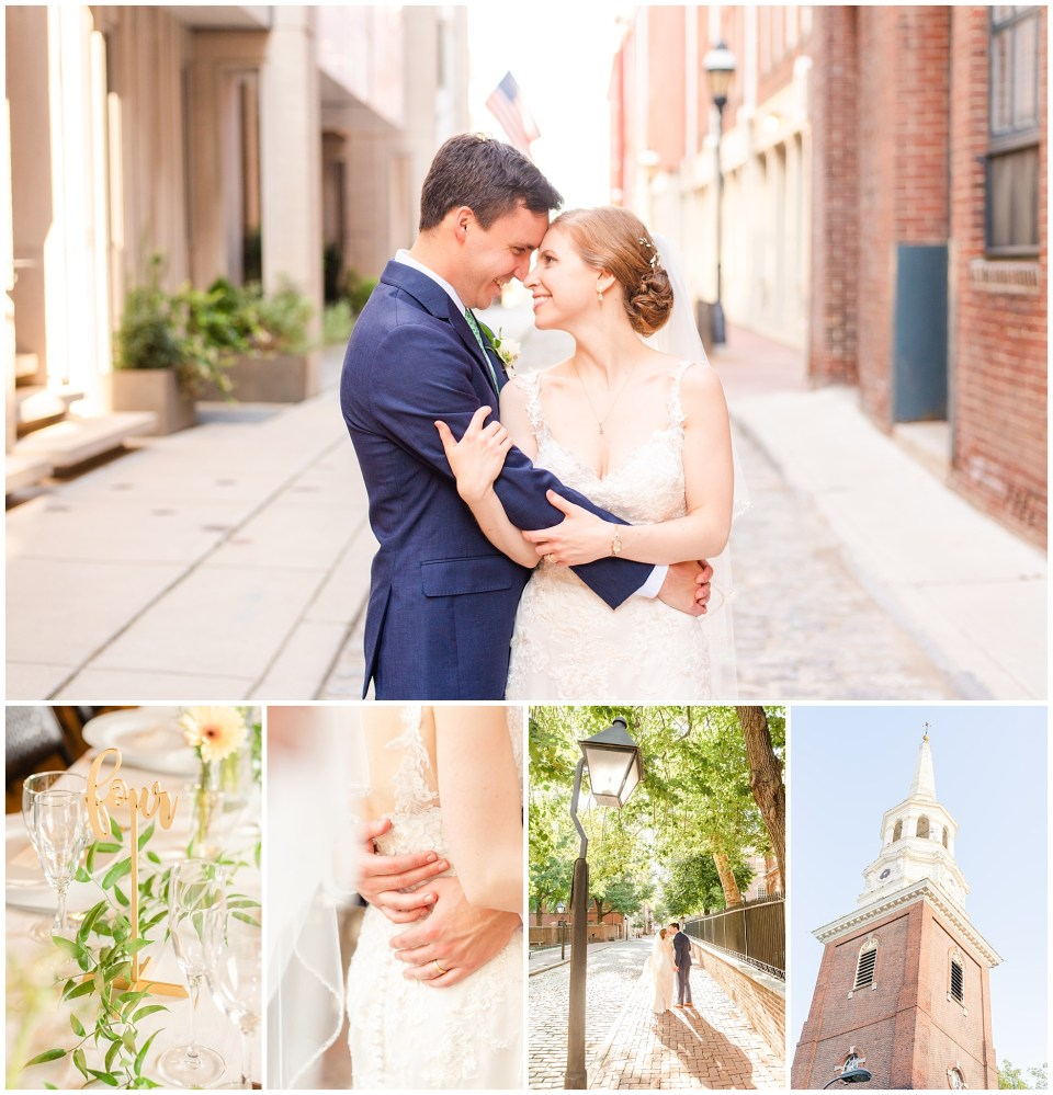 Monica & Tom | A Christ Church Wedding in Old City Philadelphia by Renee Nicolo Photography