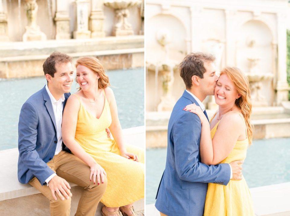 Longwood Gardens engagement portraits with Renee Nicolo Photography