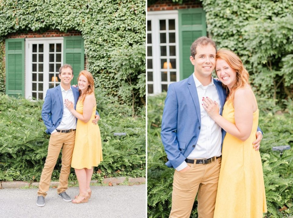 engagement portraits with Renee Nicolo Photography in Longwood Gardens