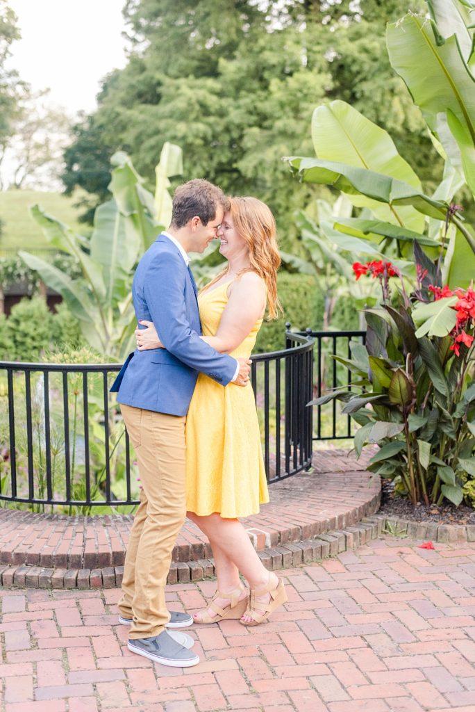 Longwood Gardens engagement with Renee Nicolo Photography