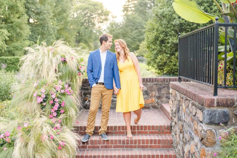 summer engagement session with Renee Nicolo Photography