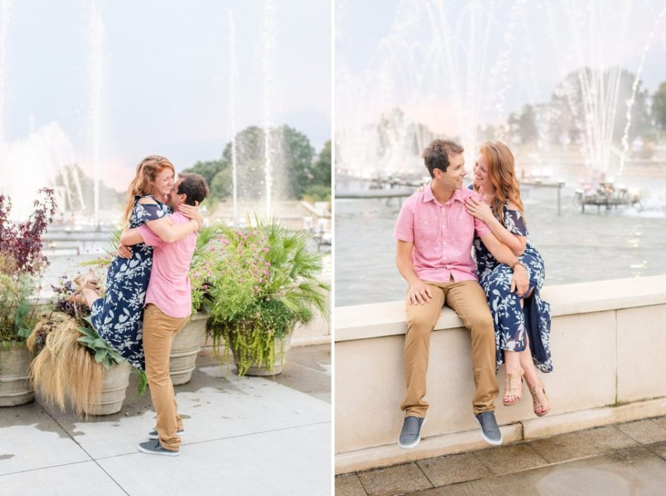 romantic engagement portraits by Renee Nicolo Photography