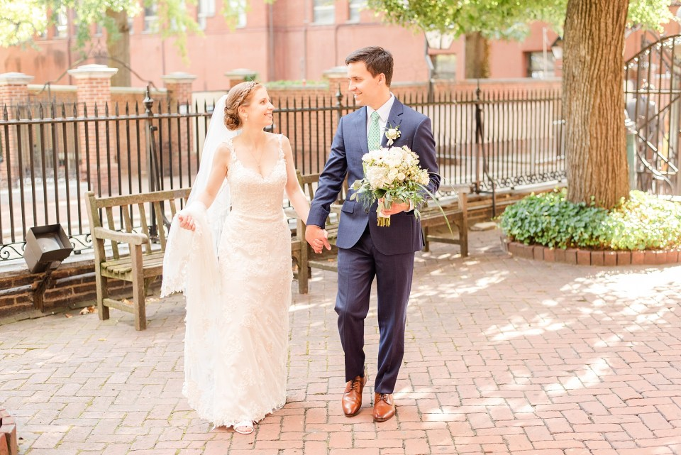 romantic summer wedding portraits by Renee Nicolo Photography