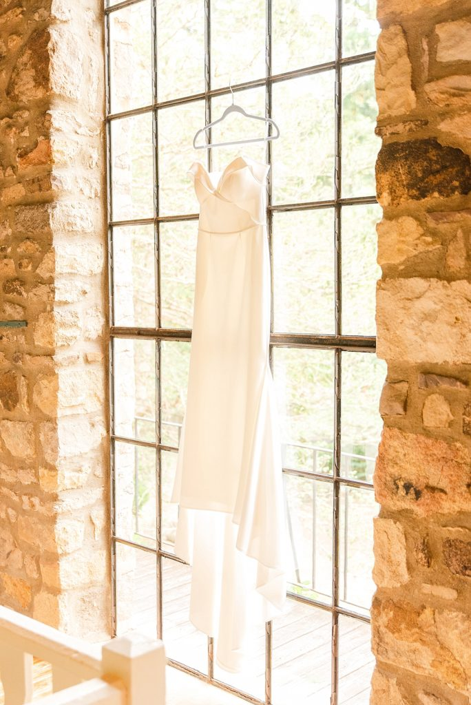 bride's gown from Lace & Liberty photographed by PA wedding photographer Renee Nicolo Photography
