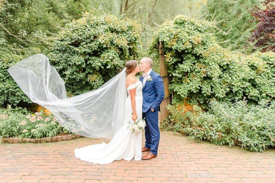 summer garden wedding portraits with Renee Nicolo Photography