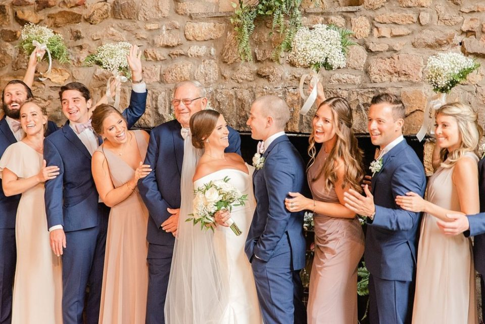 excited bridal party portraits by Renee Nicolo Photography