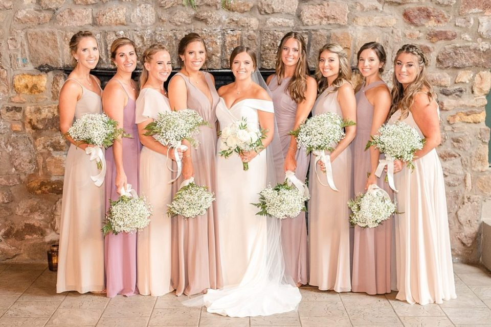 bridesmaids photographed by Renee Nicolo Photography