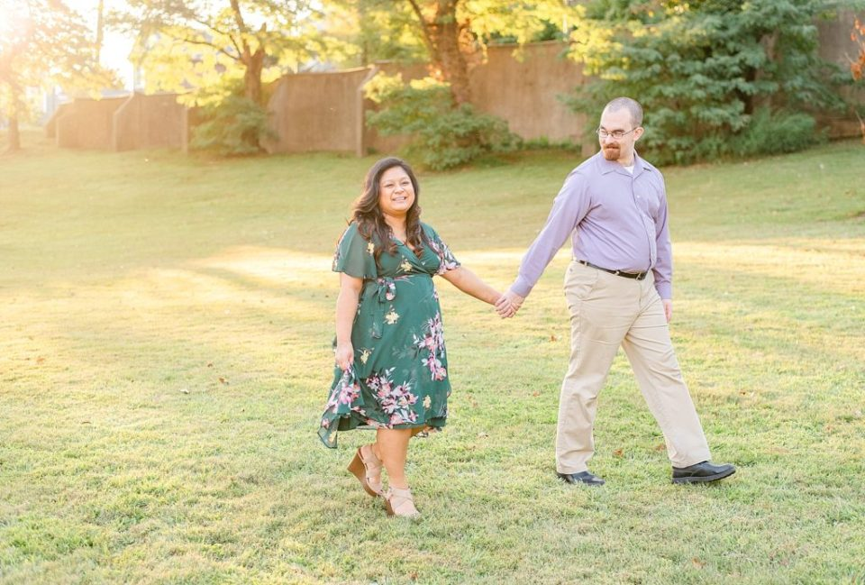 anniversary session in Doylestown PA with Renee Nicolo Photography