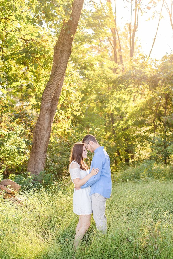 Historic Stonebrook Farm engagement session with Renee Nicolo Photography