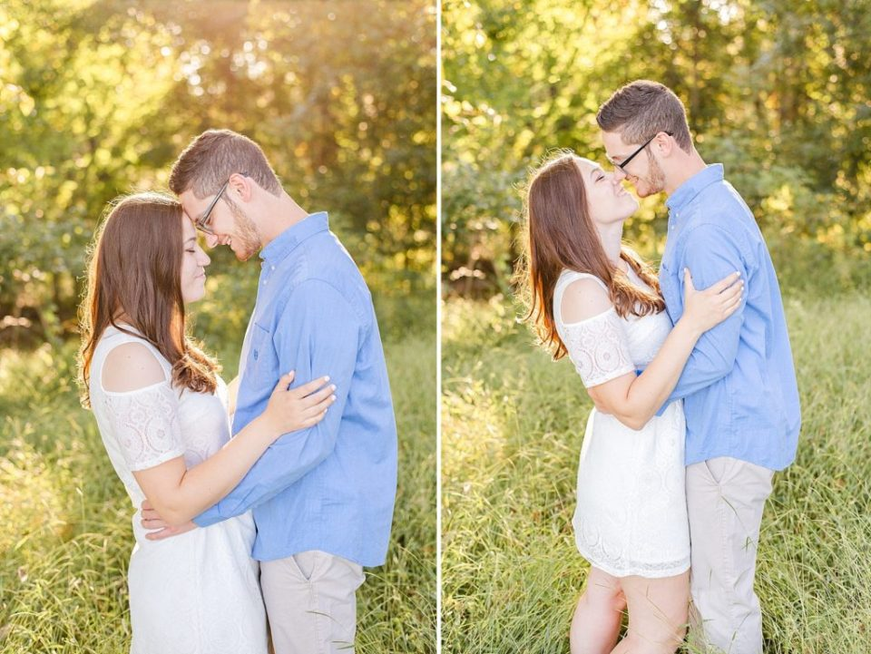 Renee Nicolo Photography photographs engagement photos at Historic Stonebrook Farm