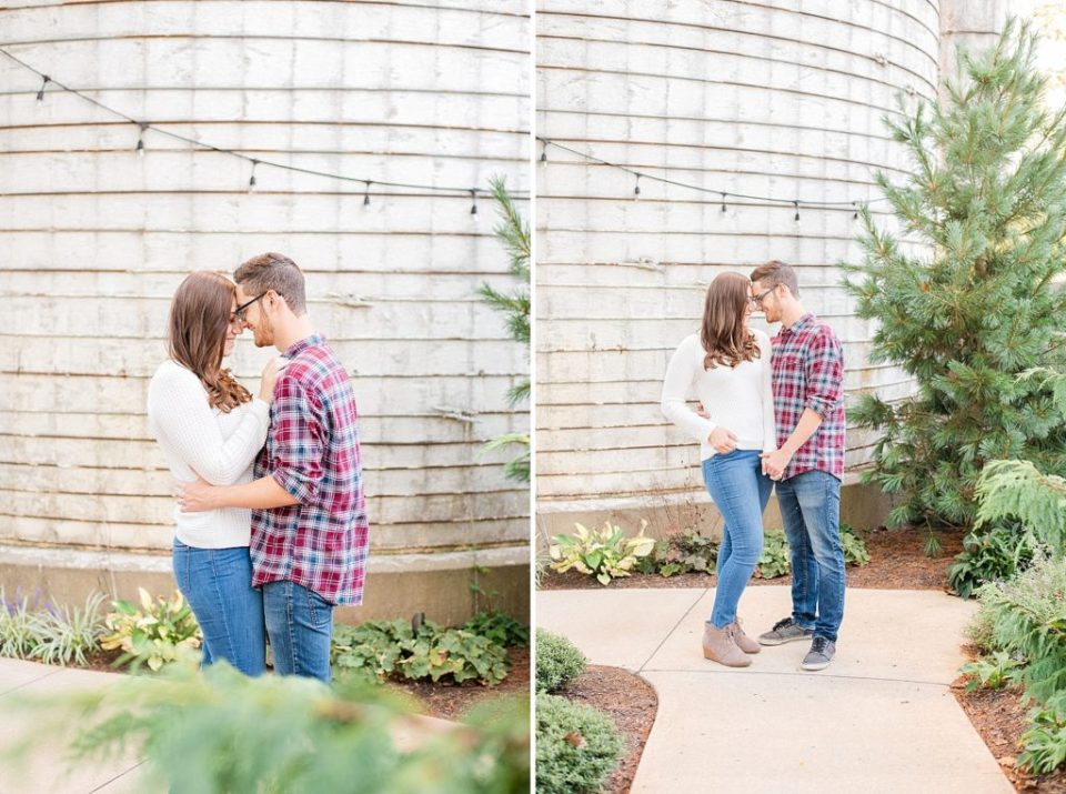 inspiration for casual farm engagement session by Renee Nicolo Photography