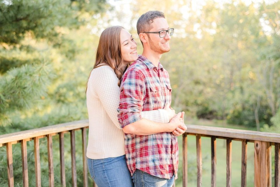 engagement portraits at farm with Renee Nicolo Photography