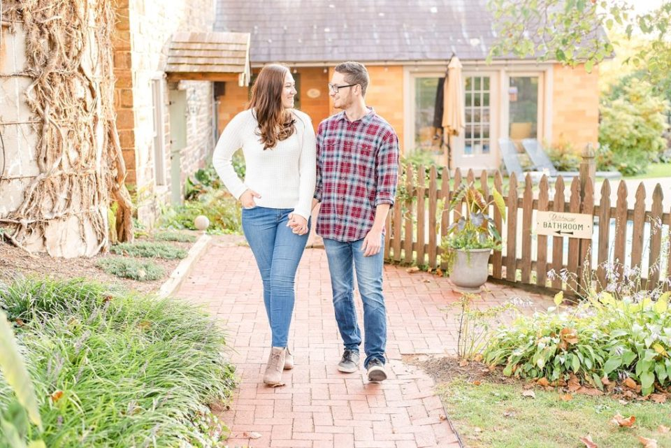 couple celebrates being engaged with Renee Nicolo Photography