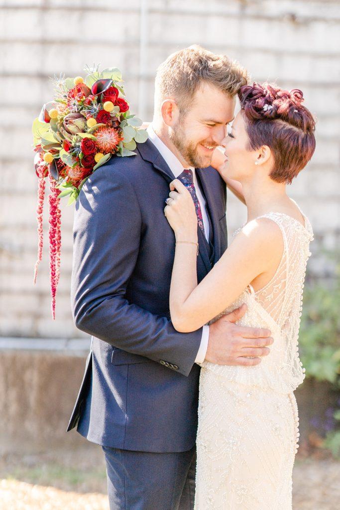 fall farm wedding photos with Pennsylvania wedding photographer Renee Nicolo Photography