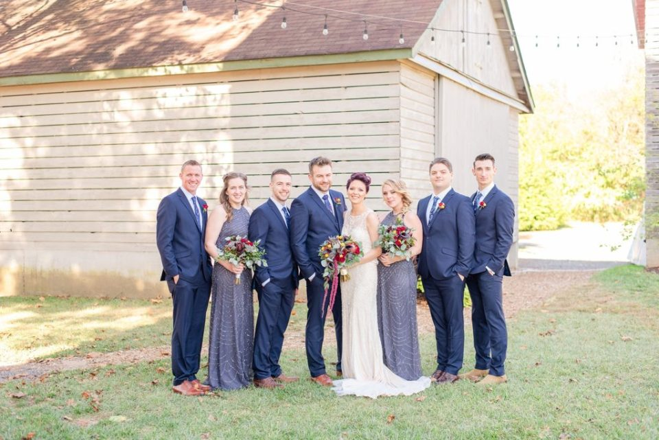 wedding party photographed by Renee Nicolo Photography