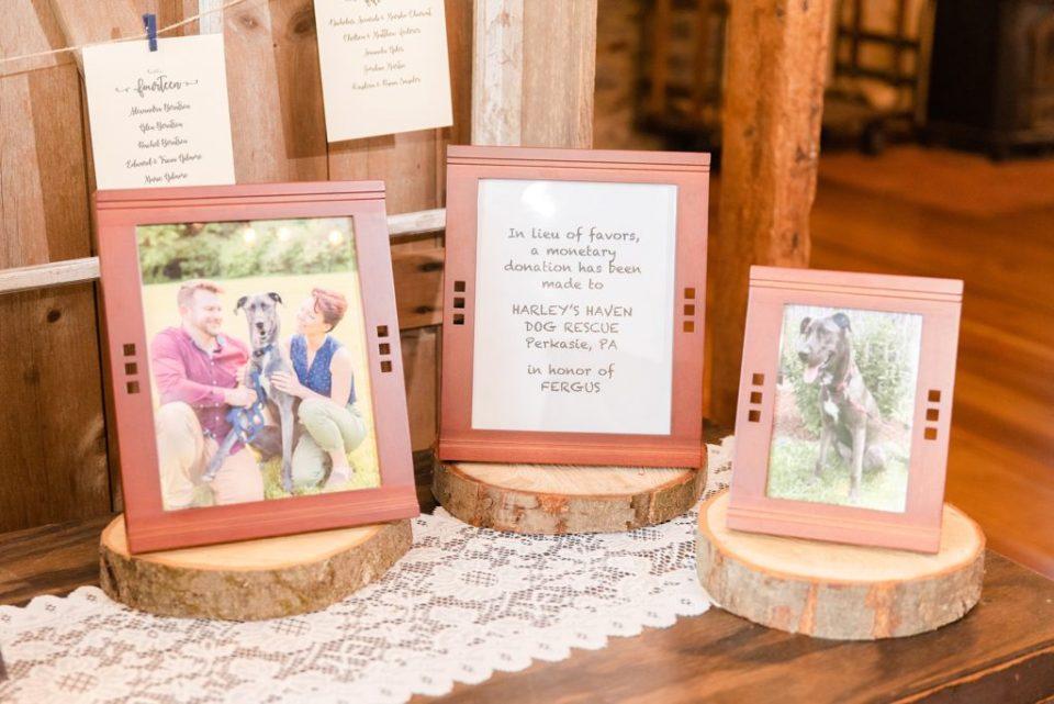 Renee Nicolo Photography photographs wedding reception details