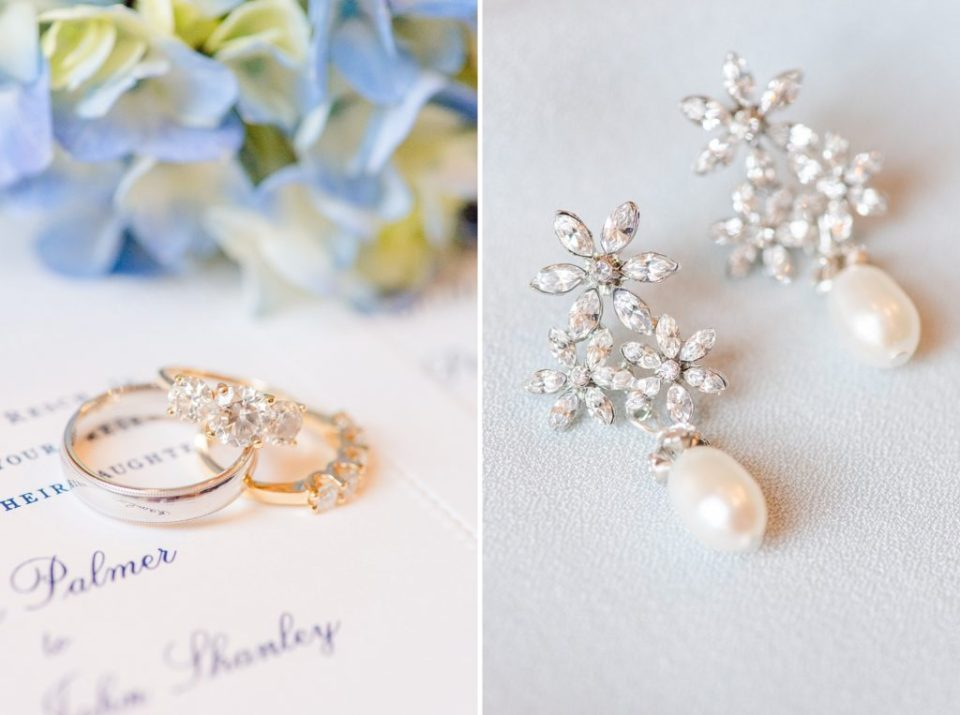 bride's jewelry photographed by Renee Nicolo Photography