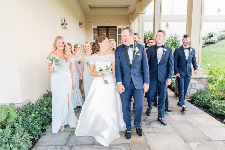 Whitemarsh Valley Country Club wedding day photographed by Renee Nicolo Photography