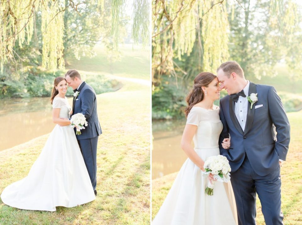 summer Whitemarsh Valley Country Club wedding photos by PA wedding photographer Renee Nicolo Photography