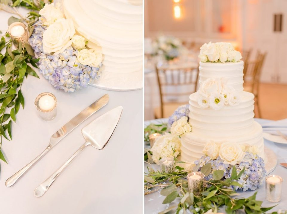 wedding cake and details photographed by Renee Nicolo Photography