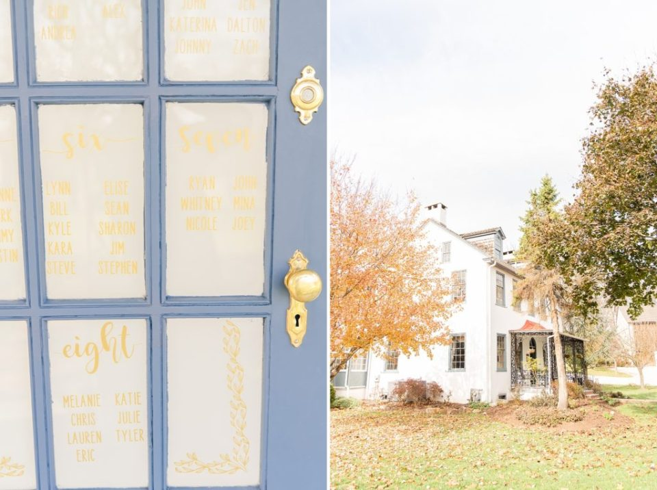 Renee Nicolo Photography photographs fall wedding day details