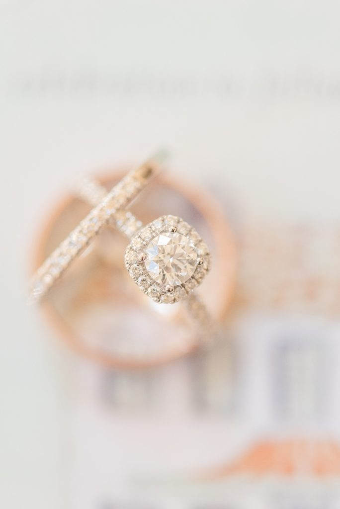 rings for PA wedding with Renee Nicolo Photography