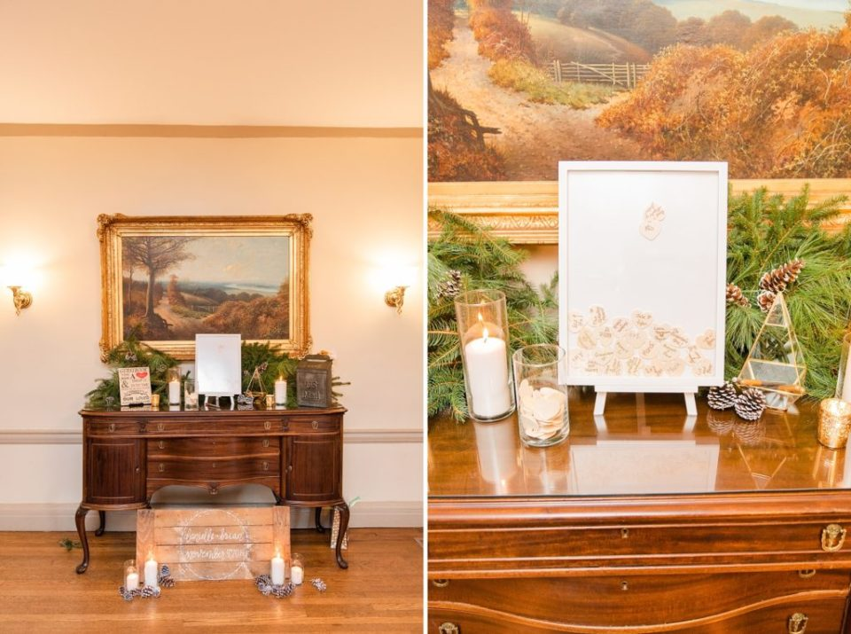 fall wedding deatils for intimate wedding day with Renee Nicolo Photography