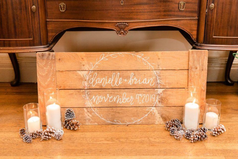 Renee Nicolo Photography photographs rustic wedding details