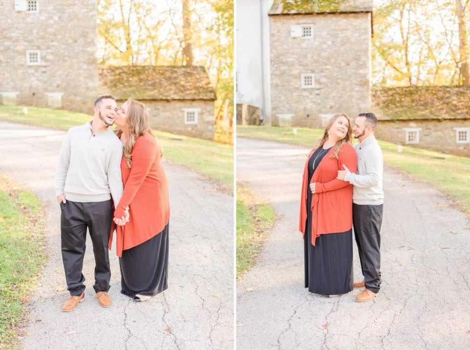 Renee Nicolo Photography photographs Valley Forge National Park engagement photos
