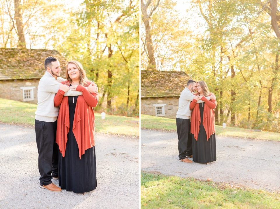 cozy fall engagement session with Renee Nicolo Photography