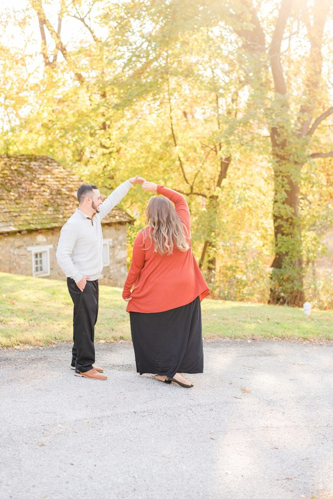 Renee Nicolo Photography photographs Valley Forge National Park engagement session