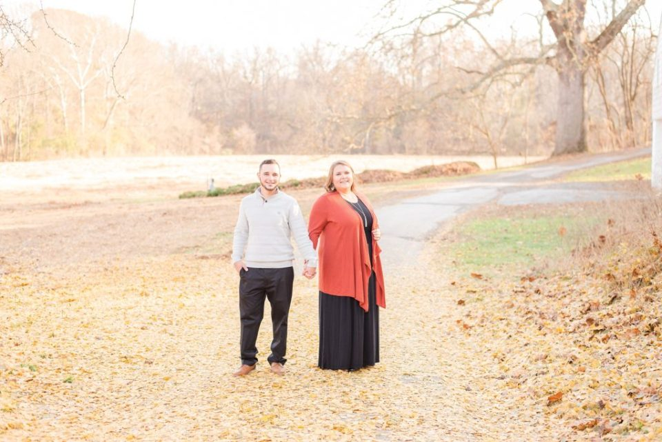 engagement photos at Valley Forge with Renee Nicolo Photography