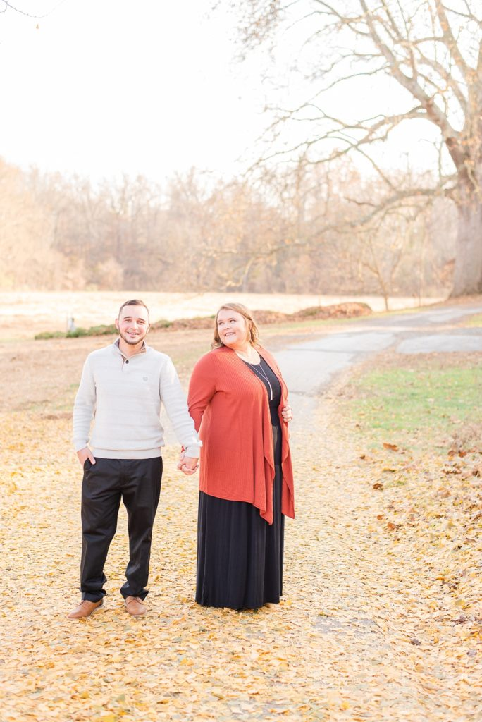 Renee Nicolo Photography photographs PA engagement session