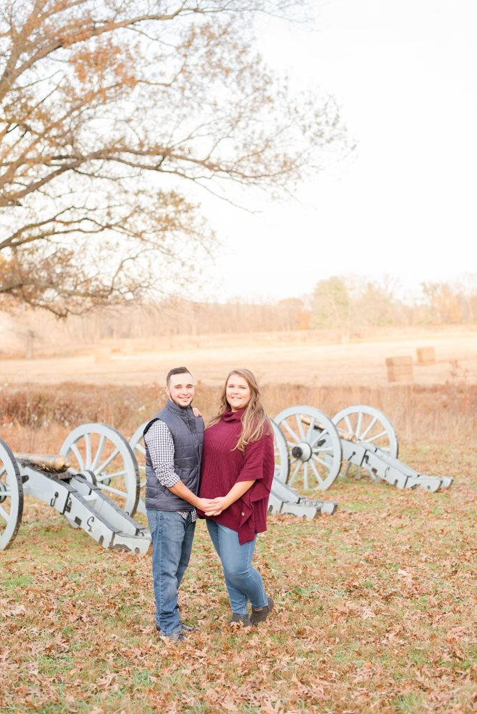 Renee Nicolo Photography photographs fall engagement session