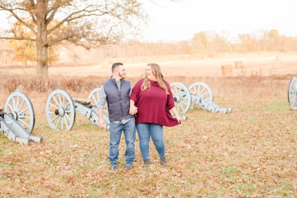 Renee Nicolo Photography photographs engagement session in Valley Forge