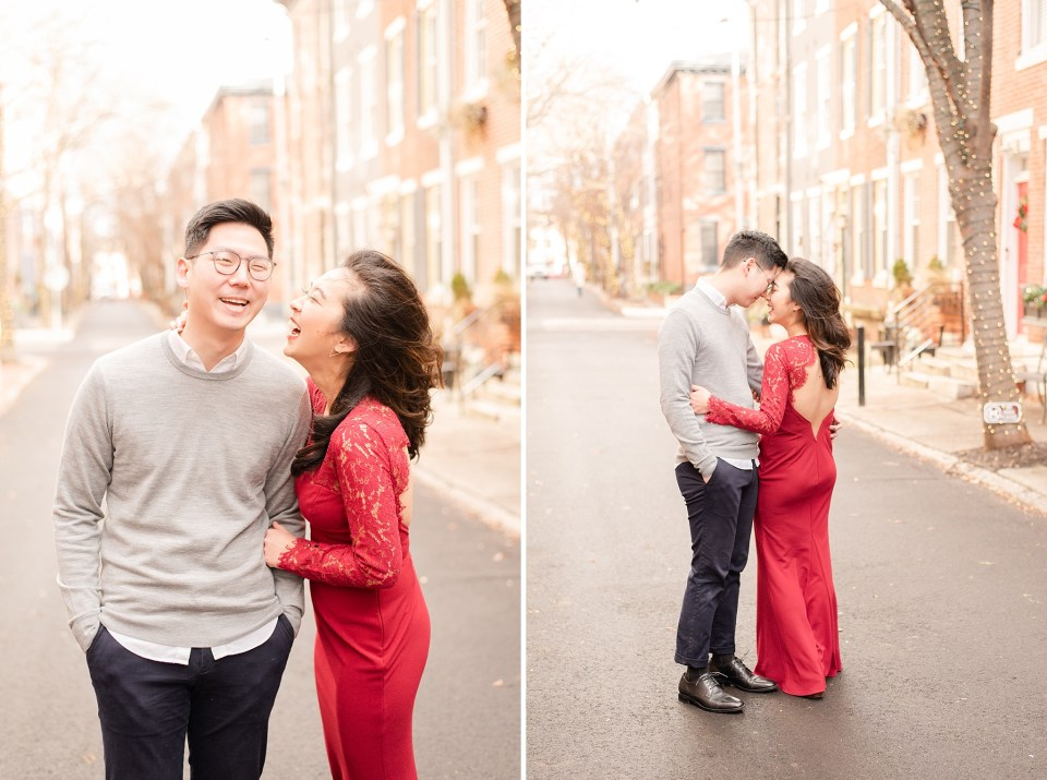engagement session with Renee Nicolo Photography in Philly PA