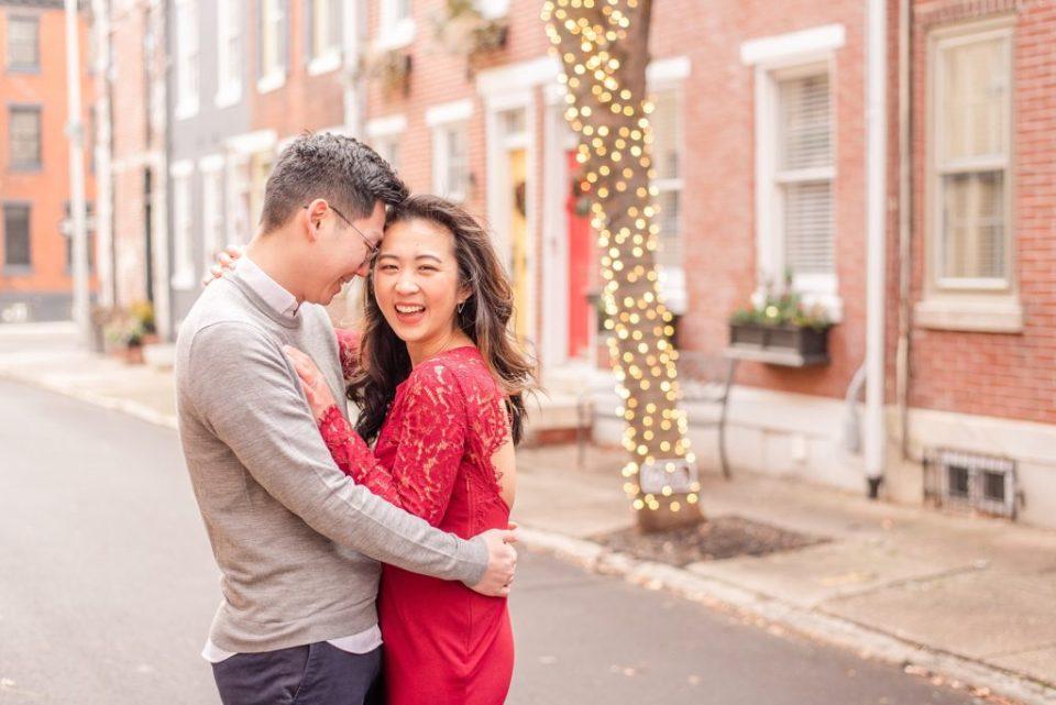 joyful engagement photos by Renee Nicolo Photography